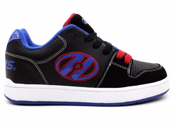 Heelys Cement 1 Black/Royal/Red Wheel Roller Shoes