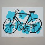 Bicycle card - blue