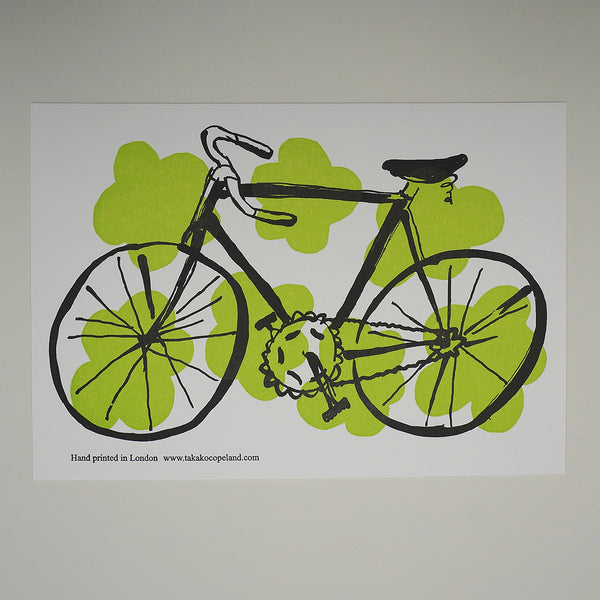 Bicycle card - green