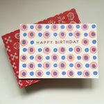 Birthday dots - pink