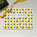 Birthday dots - yellow