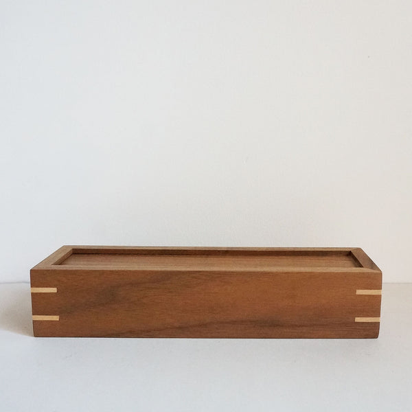 Walnut pencil case