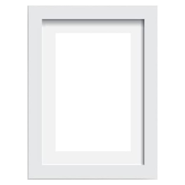 White Frame - Size A4 - Indigo Crush - 1
