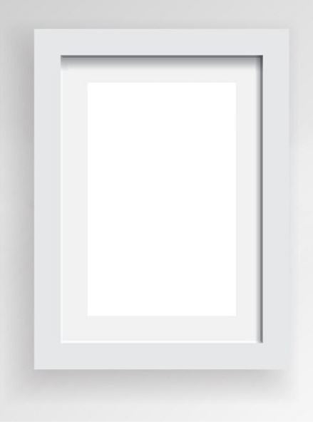 White Frame - Size A4 - Indigo Crush - 2