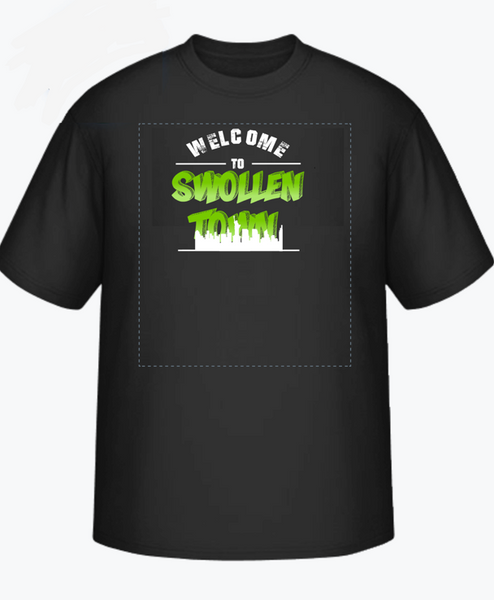 Welcome to swollentown shirt(oversized)