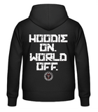 Hoodie on World off Hoodie (different colors)