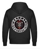 Personalized Zipper Hoodie black