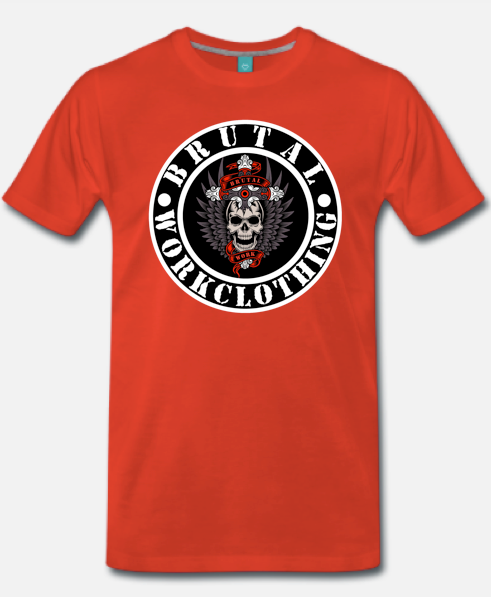 Bwc logo shirt red