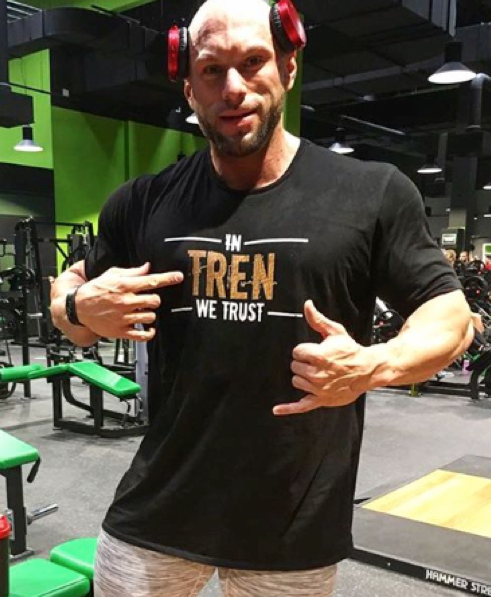 in tren we trust t-shirt(regular fit)