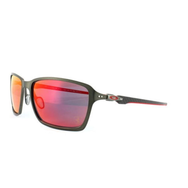 New Oakley Sunglasses Tincan Carbon Ferrari Carbon Ruby Iridium F/Ship