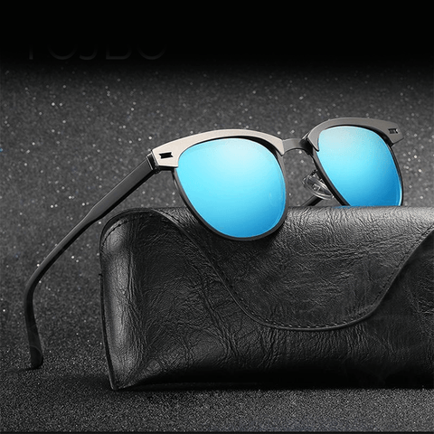 2018 Aviator Retro Sunglasses Unisex Polarized Sunglasses