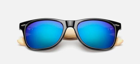Retro Wood Sunglasses for Men