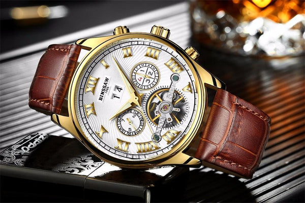 HiClass Luxury Brand Mechanical Businessman Watch