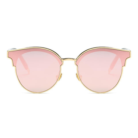 CatEye Sunglasses Woman Fashion Mirrored Sunglasses SOJOS SJ1055
