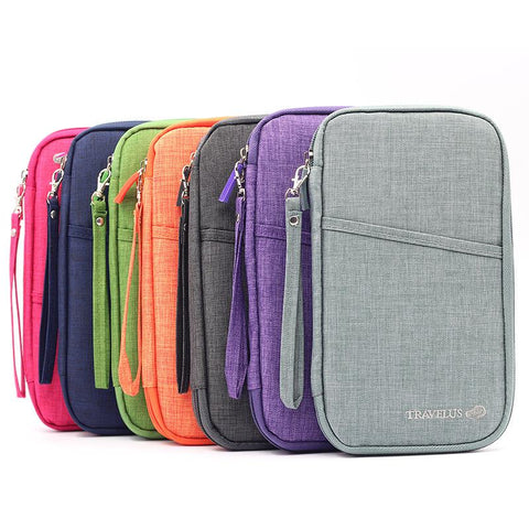 Multi Purpose Multi-Function Passport Document Holder Wallet Case Organizer