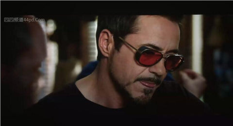Tony Stark Iron Man Movie Replica Matsuda Vintage Sunglasses UV400