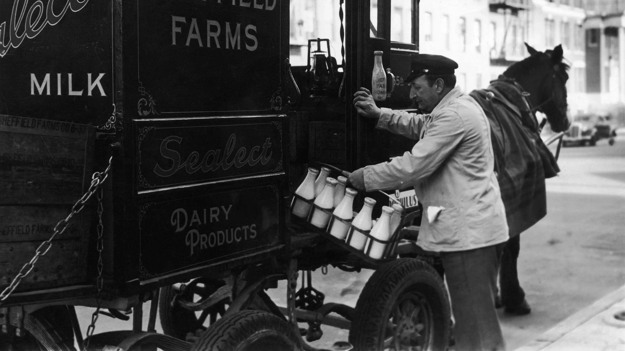 How things used to be - Milkman