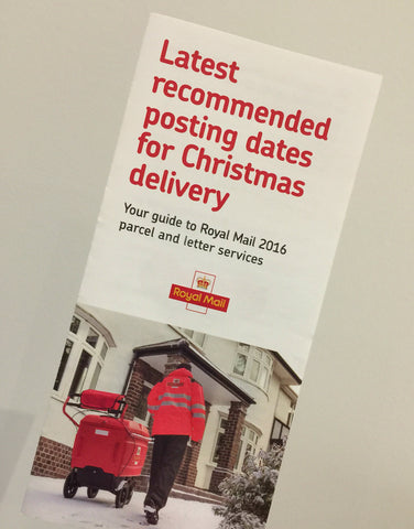 Royal Mail recommended last postage dates