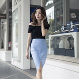 Yves Leather Skirt