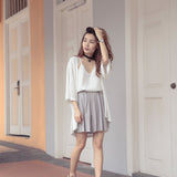 Haylea Pleated Shorts