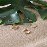 Kestrel Gold Ring Set
