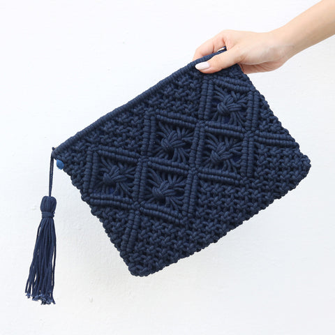 Laurel Crochet Clutch