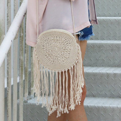 Mandala Crochet Bag