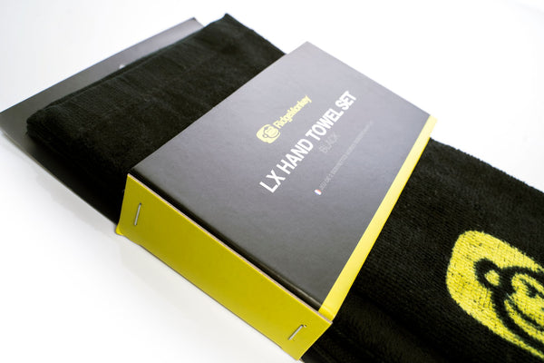 LX Hand Towel Set Black