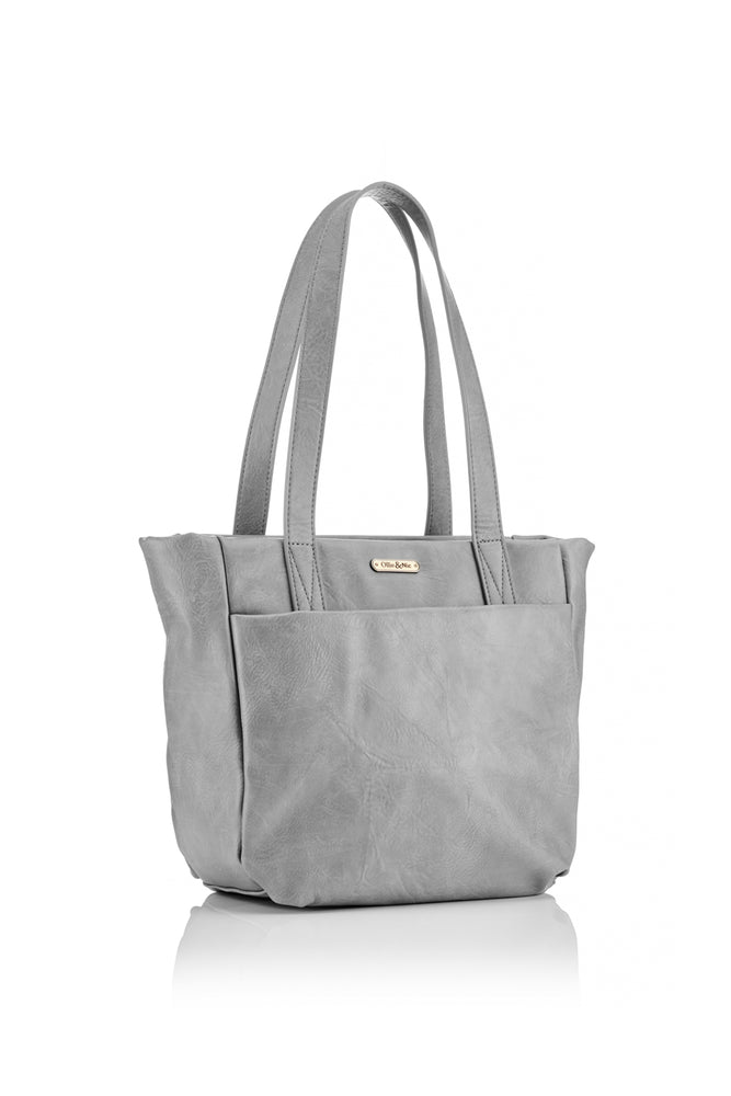 Darcey Tote - Grey - Ollie & Nic