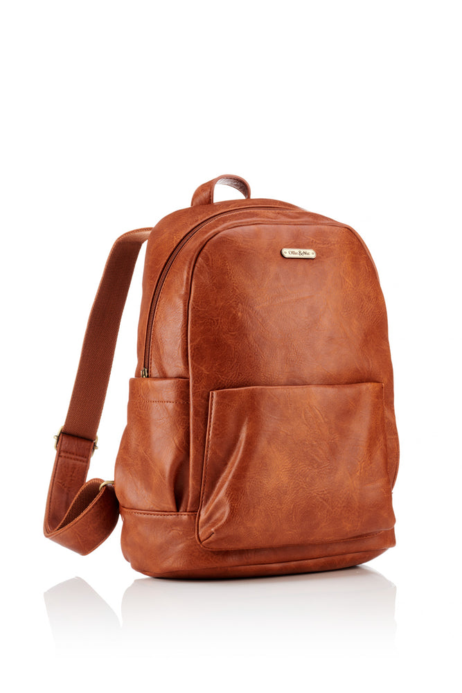 Darcey Backpack - Tan - Ollie & Nic