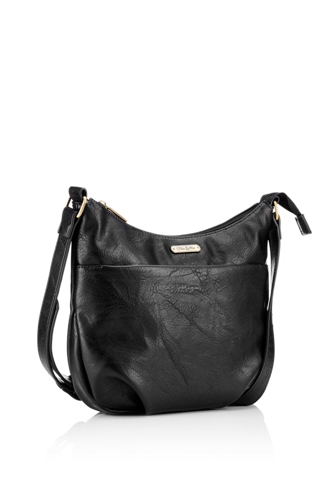 Darcey Crossbody - Black - Ollie & Nic