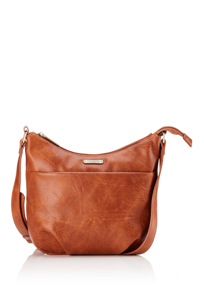 Darcey Crossbody - Tan
