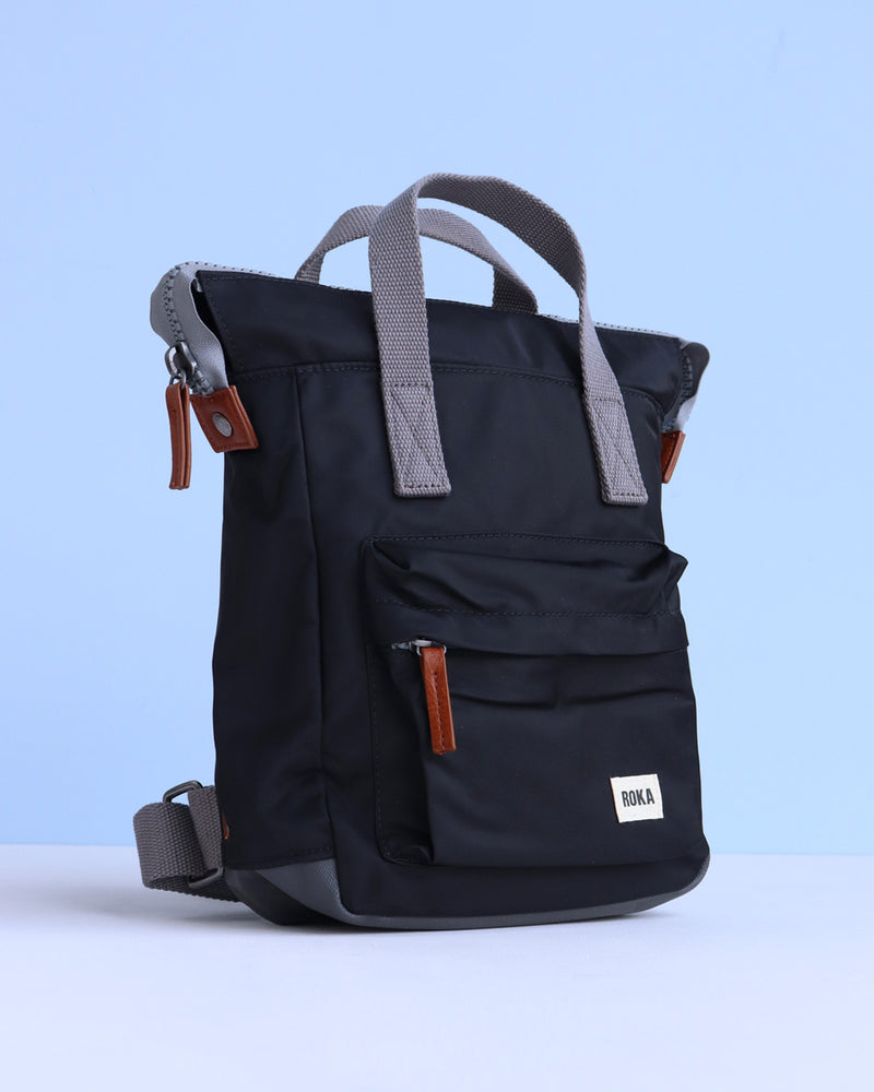 Roka Bantry B Mini Backpack - Black - Ollie & Nic