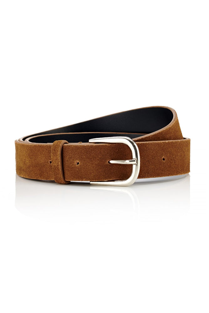Belt - Tan Suede