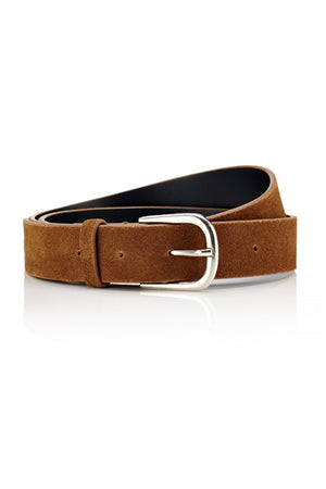 Load image into Gallery viewer, Belt - Tan Suede - Ollie & Nic