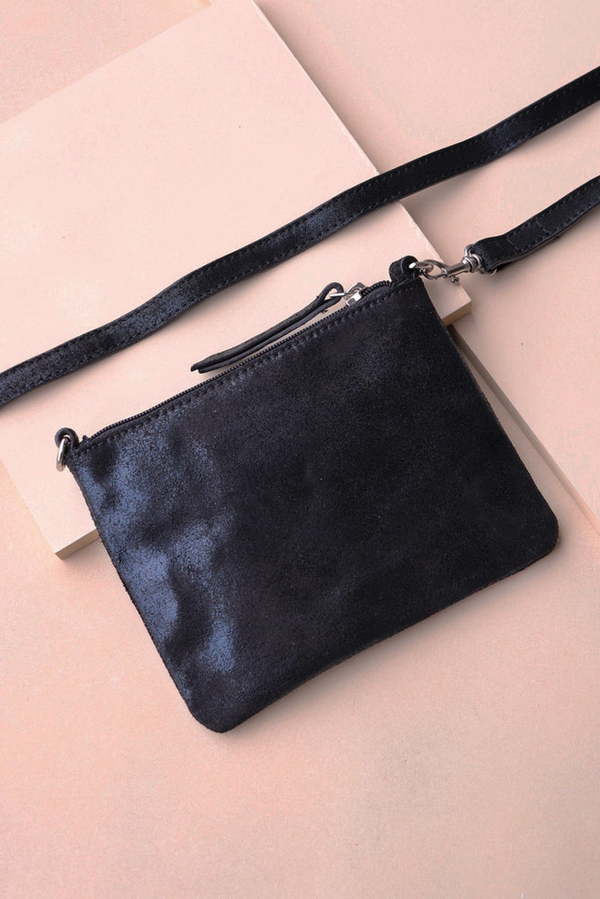 Crossbody Pouch - Black - Ollie & Nic