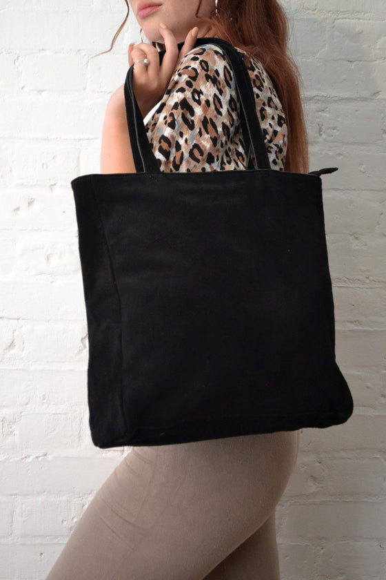 Hill + How - Tote Bag - Black