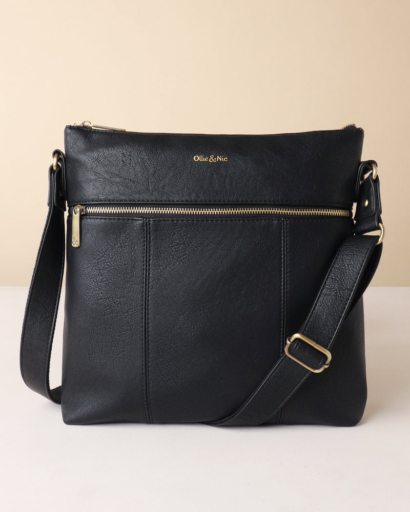 Blake Large Crossbody - Black