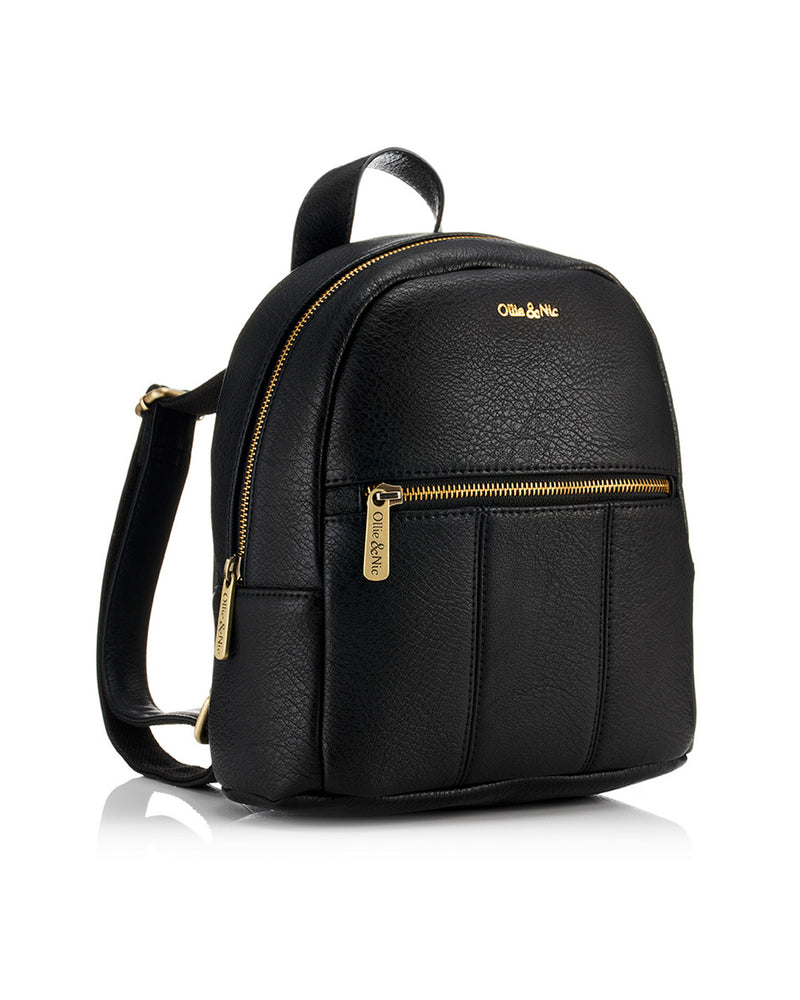 Blake Mini Backpack - Black - Ollie & Nic