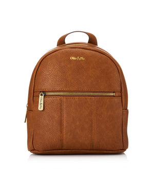 Blake Mini Backpack - Tan - Ollie & Nic