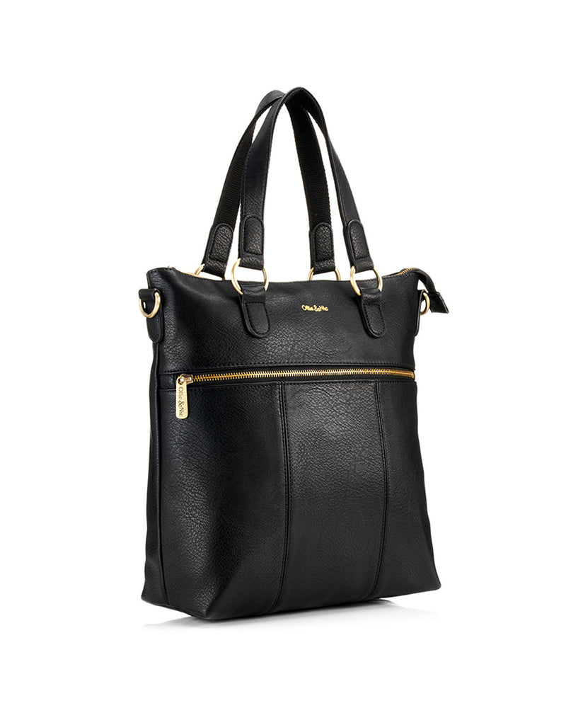 Load image into Gallery viewer, Blake Tote - Black - Ollie & Nic