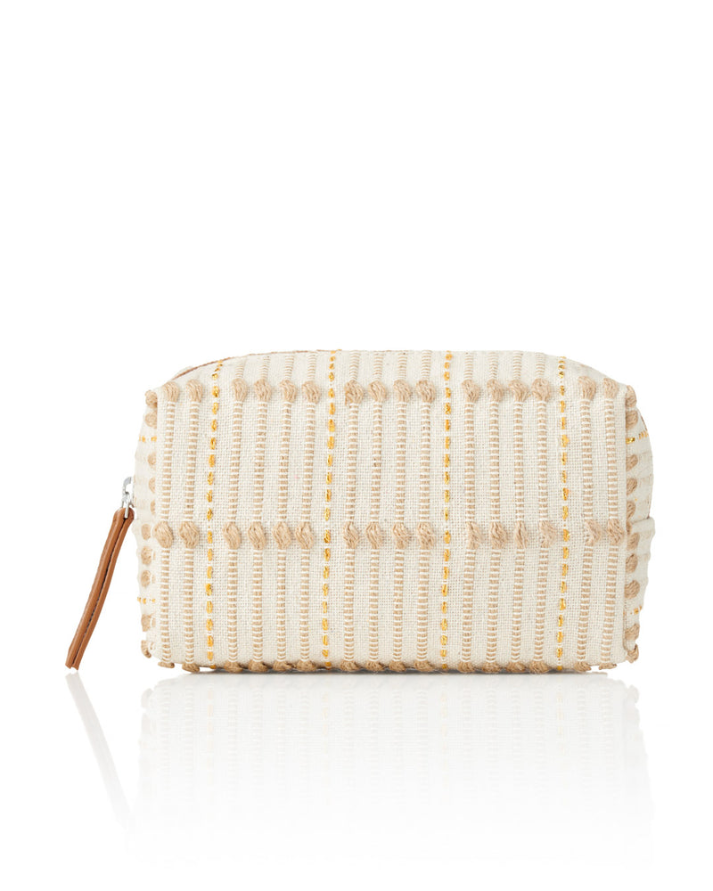 Clare Cosmetic Bag - Natural