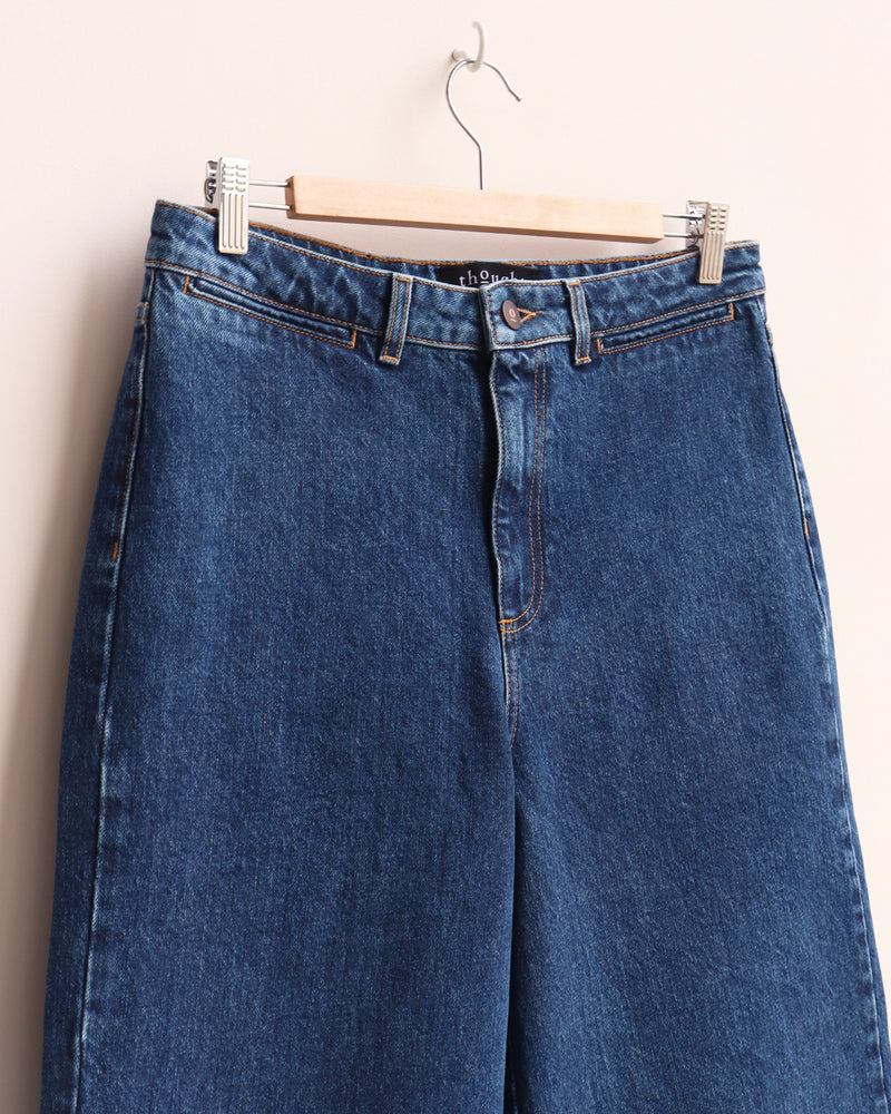 Denim Culottes - Blue