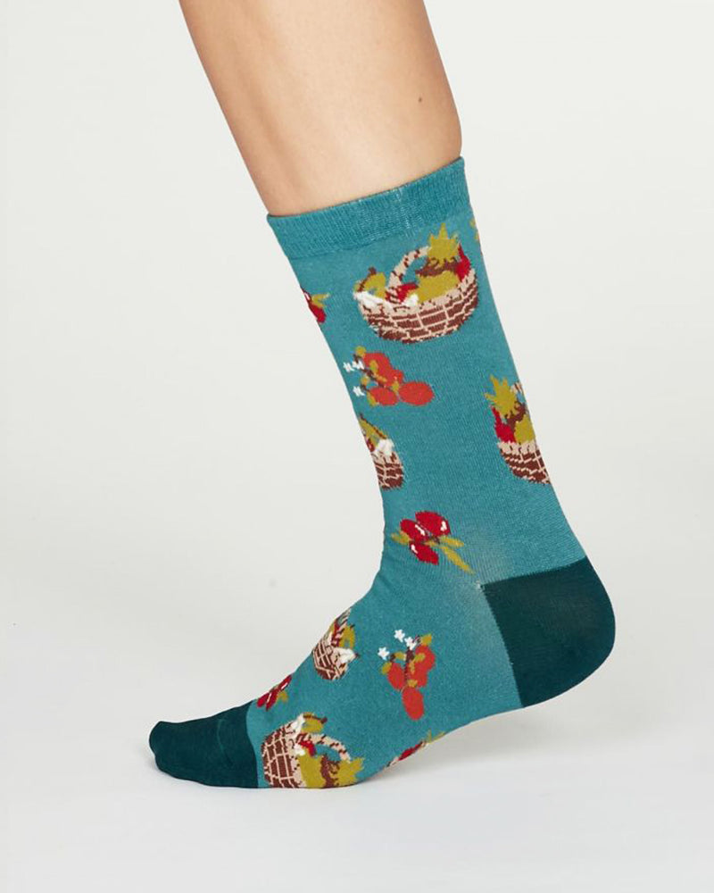 Load image into Gallery viewer, Eden Socks - Turquoise