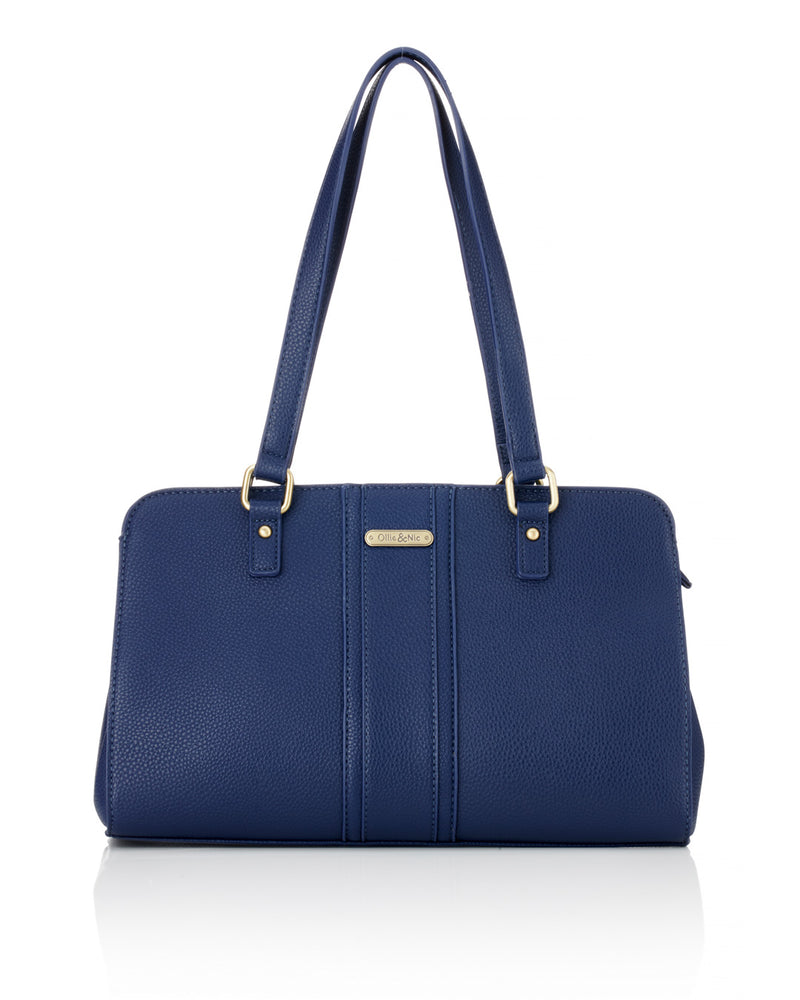 Etta Shoulder Bag - Navy