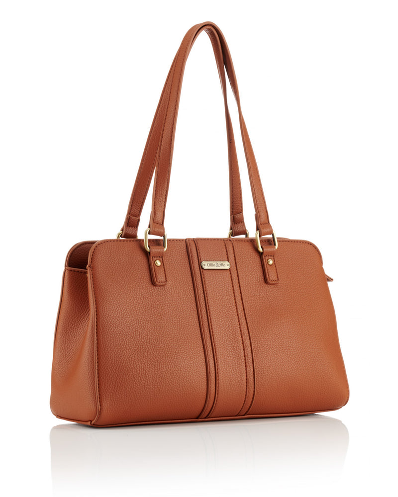Etta Shoulder Bag - Tan