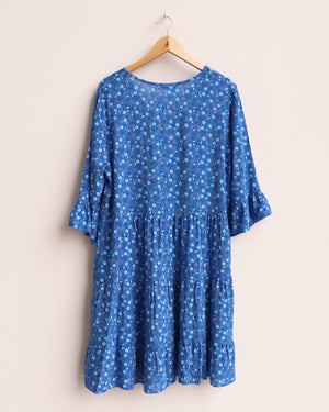 Load image into Gallery viewer, Dana Ditsy Tunic - Blue