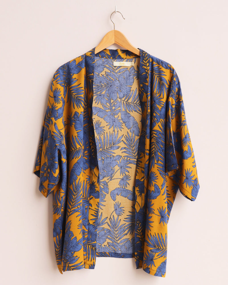 Load image into Gallery viewer, Florence Kimono - Mustard