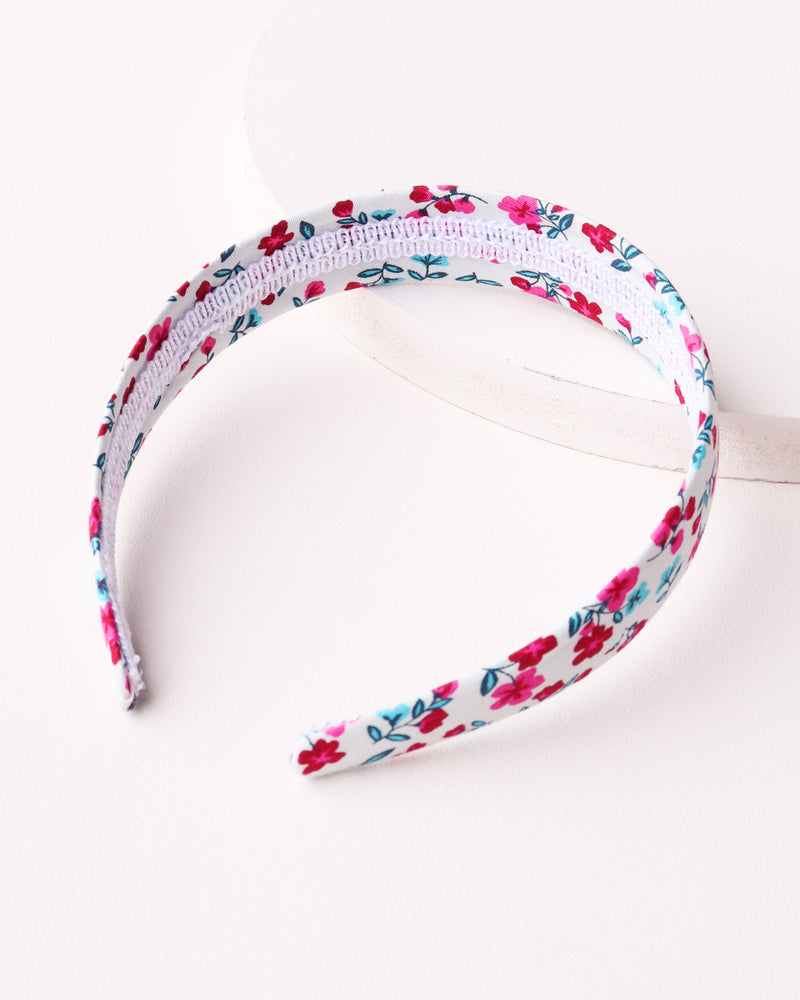 Load image into Gallery viewer, Simple Floral Headband - White