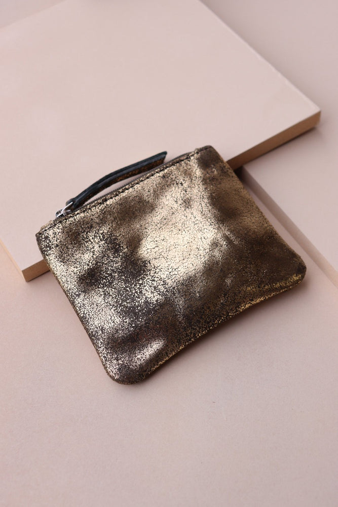 Coin Purse - Gold / Olive - Ollie & Nic